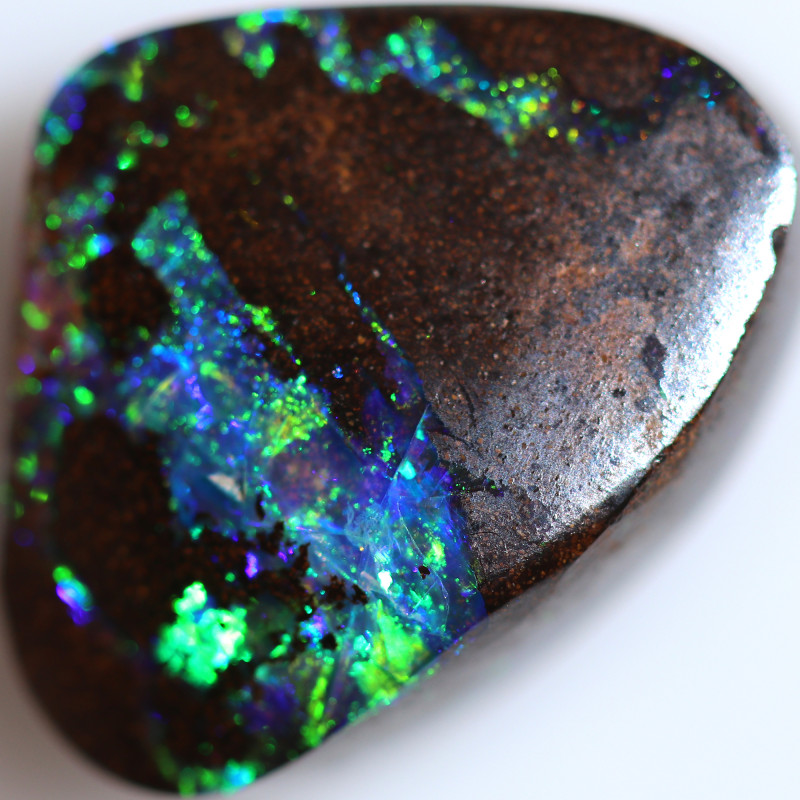 17.04 CTS STUNNING BOULDER OPAL FROM KOROIT [BMA9706]