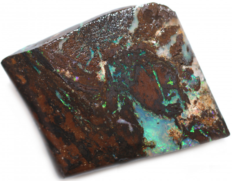 40 CTS WOOD FOSSIL ROUGH  OPAL-MINED IN JUNDAH [BY9124]
