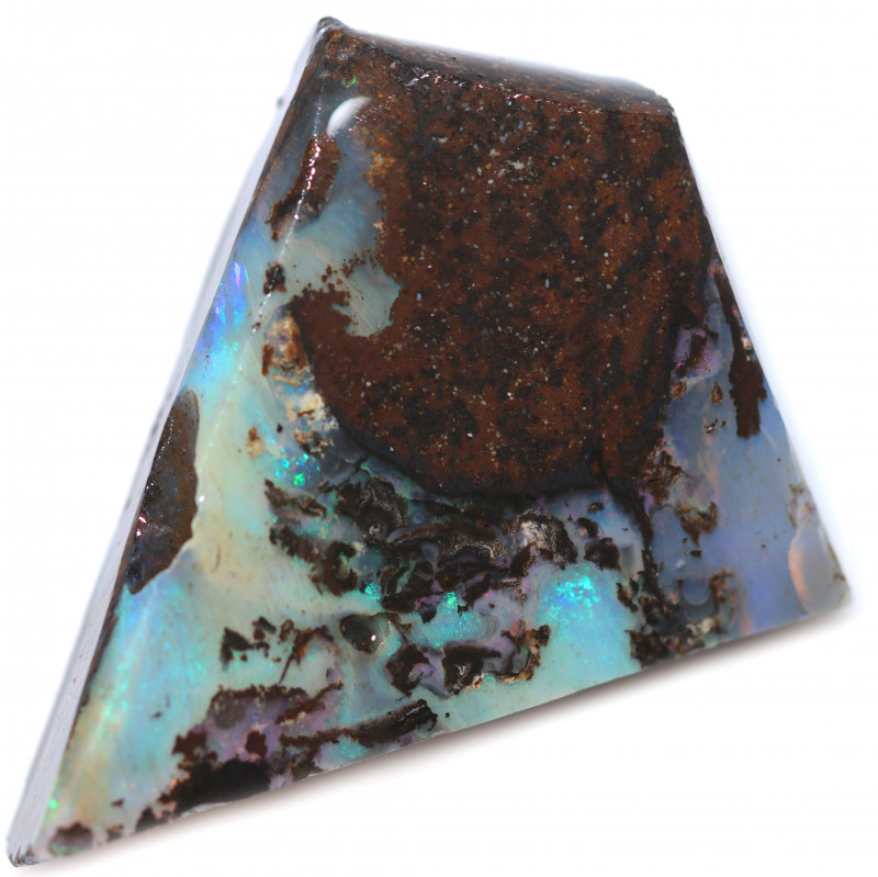 86 CTS WOOD FOSSIL ROUGH  OPAL-MINED IN JUNDAH [BY9127]