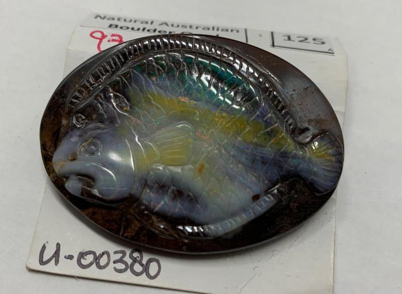 97 CTS Natural Boulder Opal Esculpida
