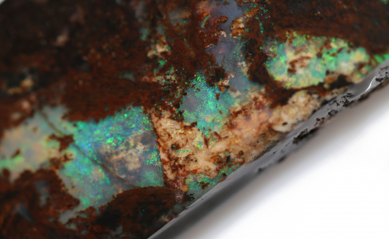 77 CTS WOOD FOSSIL ROUGH  OPAL-MINED IN JUNDAH [BY9143]