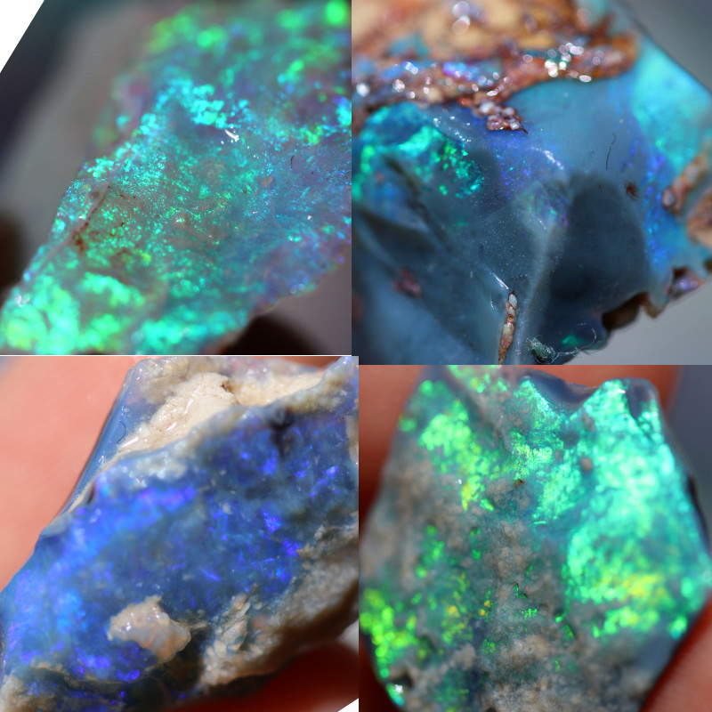 650.00 Cts Virgin rough Opal parcel direct from miner CH462