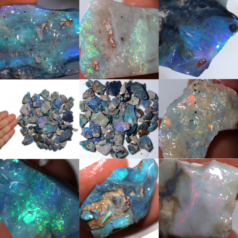 620.00 Cts Virgin rough Opal parcel direct from miner CH464