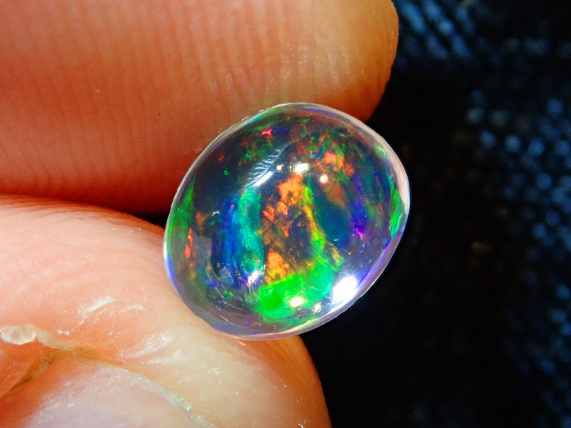 1ct. Mexican Multicoloured Fire Opal