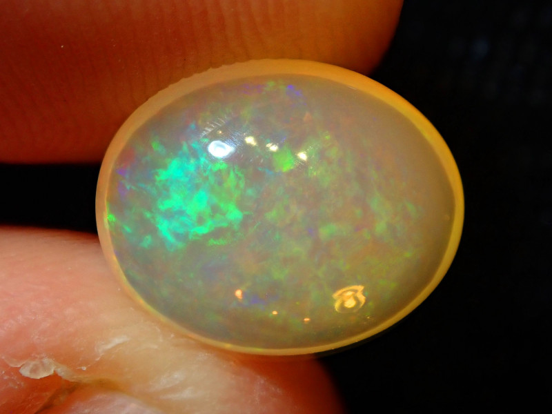 2.45ct. Mexican Multicoloured Fire Opal