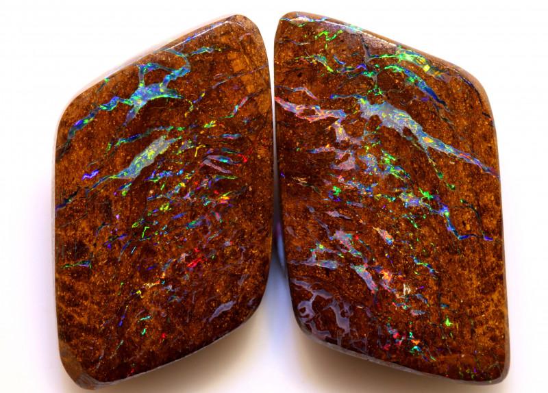 20.55cts Australian Yowah Opal Pair DO-98
