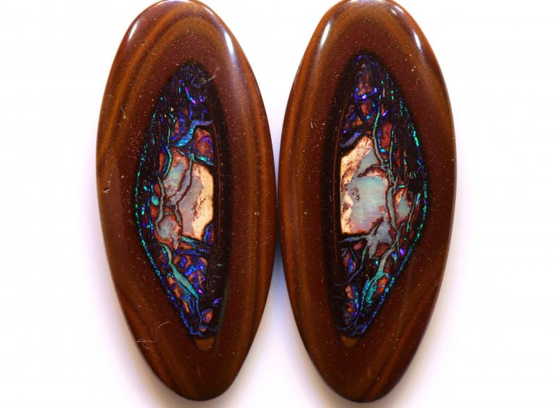 PRIVATE AUCTION!!! DO NOT BIDYowah Opal Nut Pair DO-99 - downunderopals