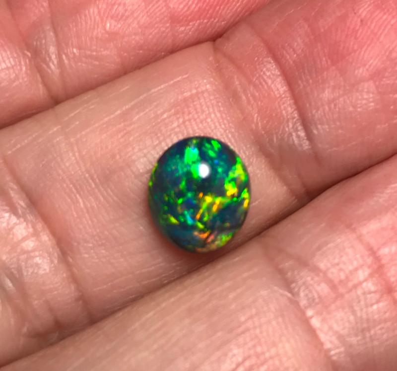 2.36 cts Black Opal - Lightning Ridge