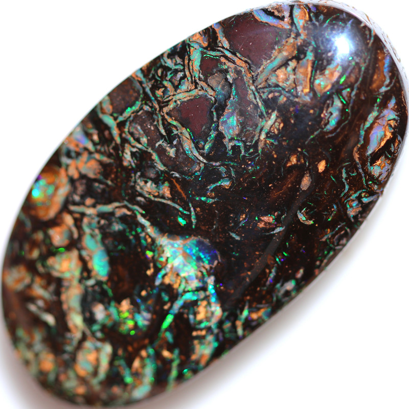 100.00 CTS KOROIT OPAL WELL POLISHED [BMA9837]