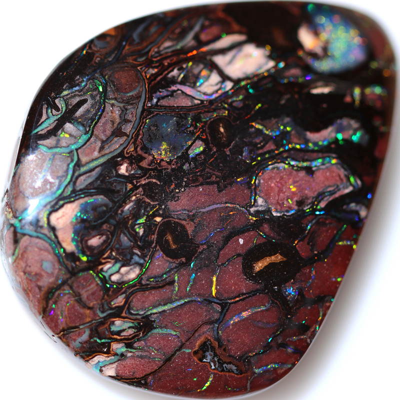 74.00 CTS KOROIT OPAL WELL POLISHED [BMA9838]