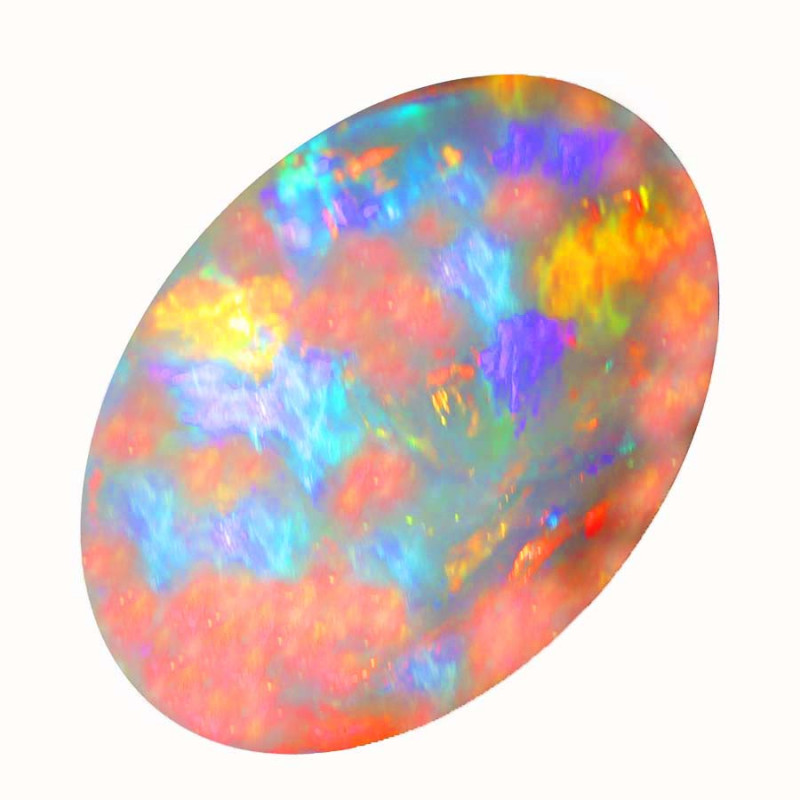 2.00  CT SEMI BLACK CRYSTAL OPAL LIGHTNING RIDGE [CS263]