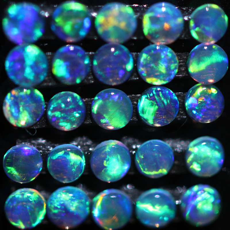 0.50 CTS TINY TINY CRYSTAL OPALS-IDEAL ACCENT STONES[CP6961]