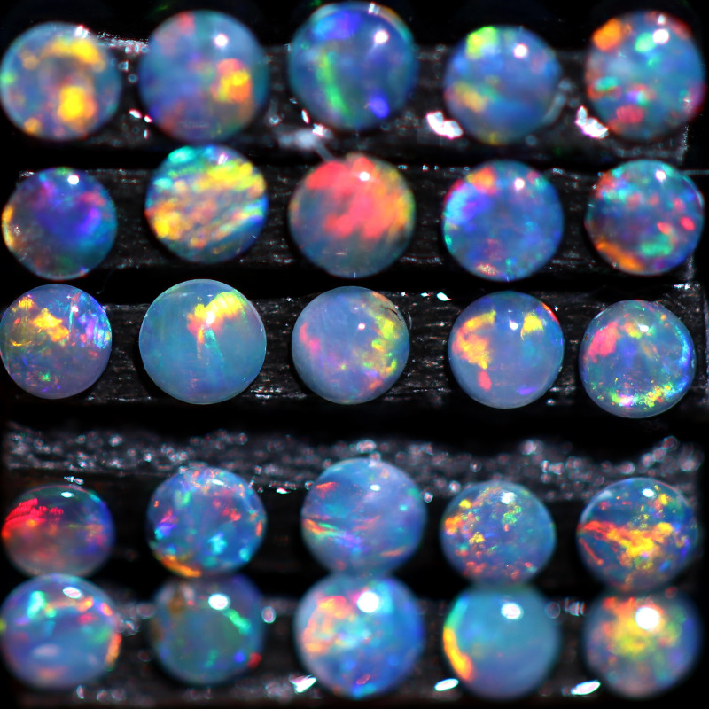 0.65 CTS TINY TINY CRYSTAL OPALS-IDEAL ACCENT STONES[CP6962]