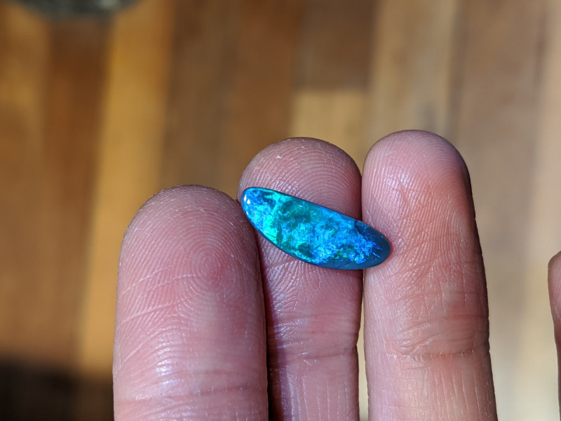 Black Opal Natural Australian Solid