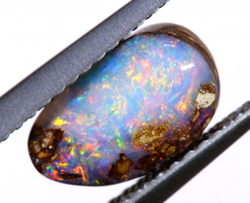 1.80cts Australian Boulder Opal Solid Stone ML0216