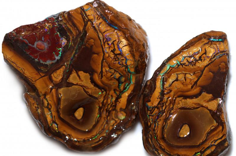 426 Cts Rough  Yowah Opal Split CH522