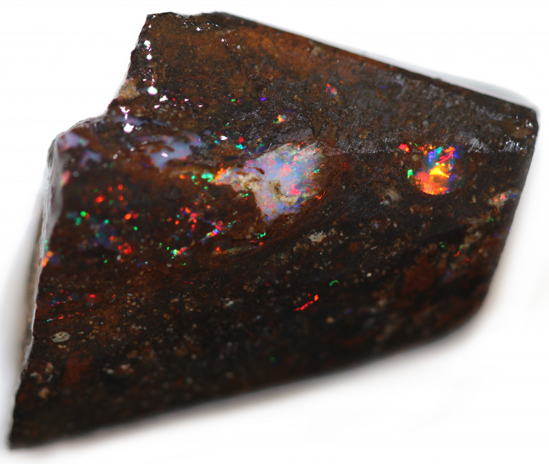 36 CTS WOOD FOSSIL ROUGH OPAL-MINED IN JUNDAH [BY9263]