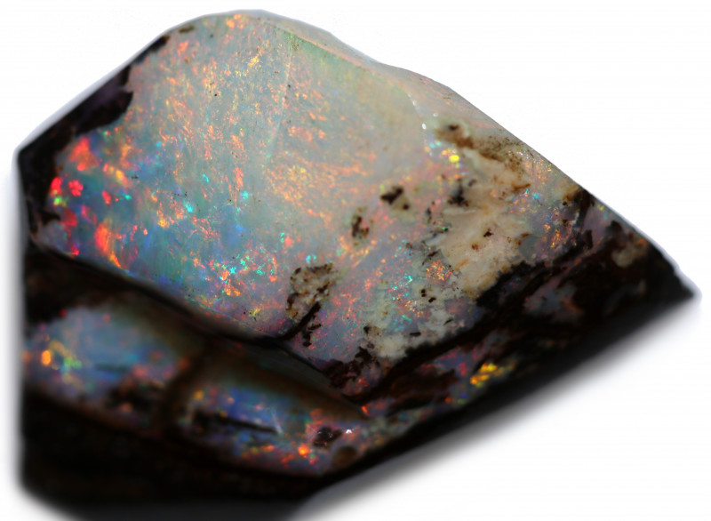 18 CTS WOOD FOSSIL ROUGH OPAL-MINED IN JUNDAH [BY9271]