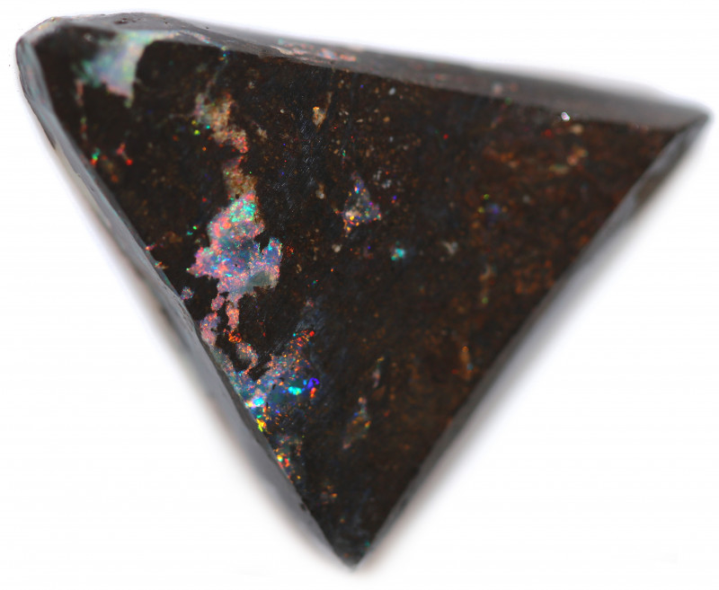 28 CTS WOOD FOSSIL ROUGH OPAL-MINED IN JUNDAH [BY9279]