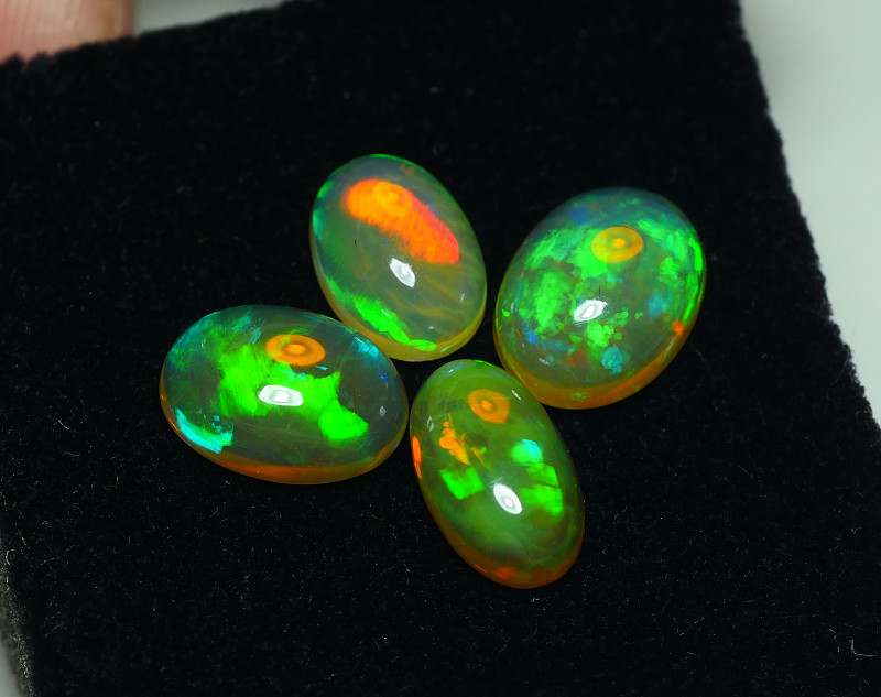 4.675 CRT BRILLIANT 4 PCS PARCELS BEAUTY MULTICOLOR WELO OPAL-