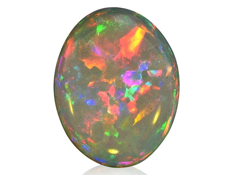 8.11 ct Very Bright Flagstone Welo Opal - Ethiopia