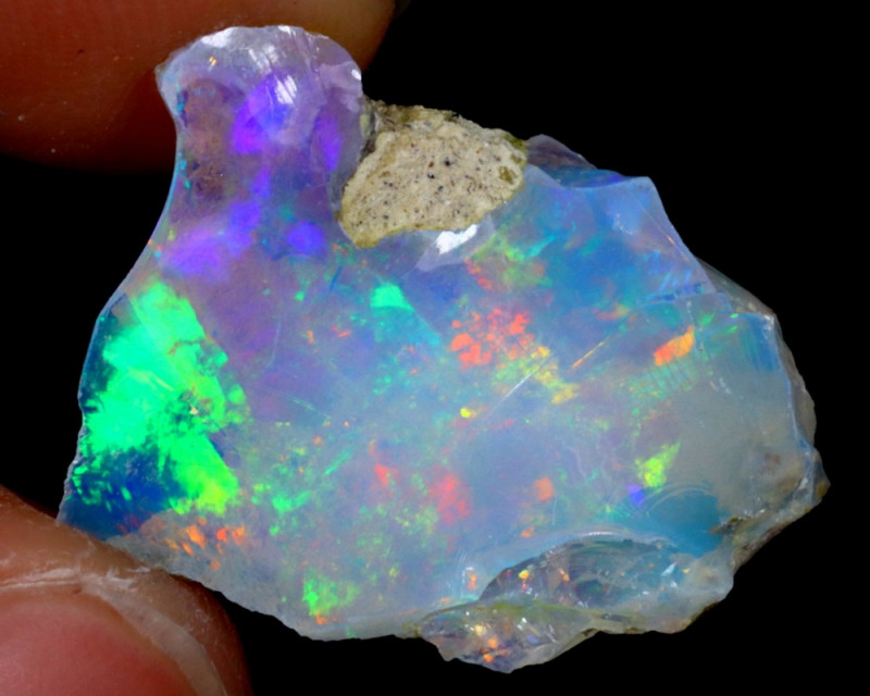 6cts Natural Ethiopian Welo Rough Opal / WR3112