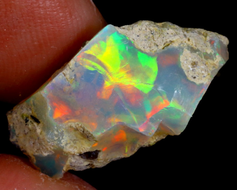5cts Natural Ethiopian Welo Rough Opal / WR3116