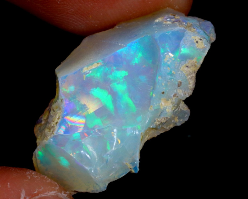 11cts Natural Ethiopian Welo Rough Opal / WR3117