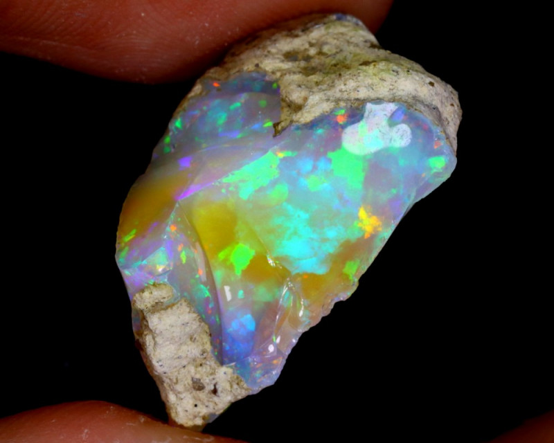 15cts Natural Ethiopian Welo Rough Opal / WR3125