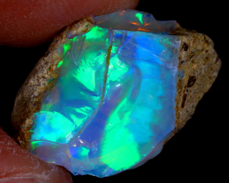6cts Natural Ethiopian Welo Rough Opal / WR3126