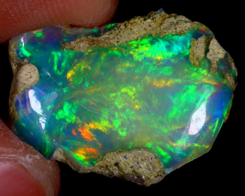 7cts Ethiopian Welo Rough Opal / WR3134