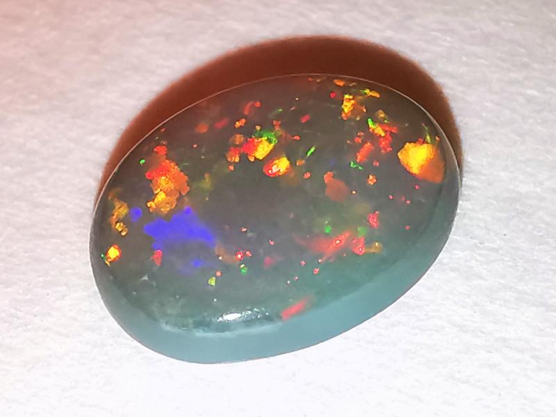 Dark Crystal Opal - Lightning Ridge Australia - 1.2 cts