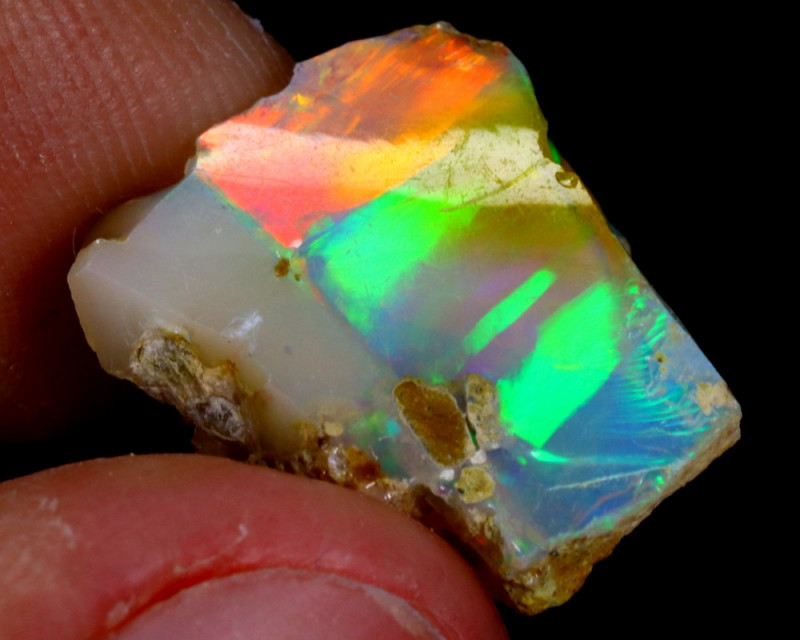 6cts Natural Ethiopian Welo Rough Opal / WR3192