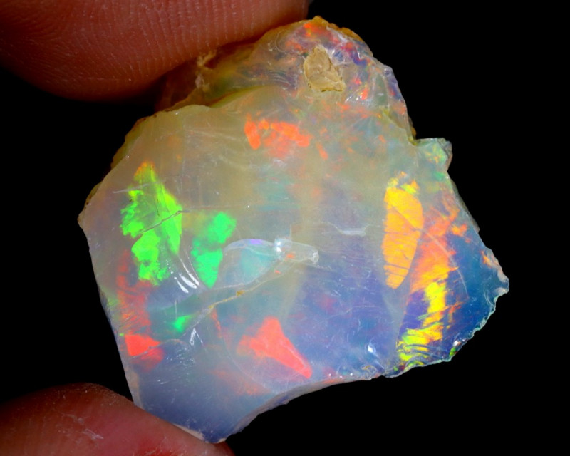 7cts Natural Ethiopian Welo Rough Opal / WR3217