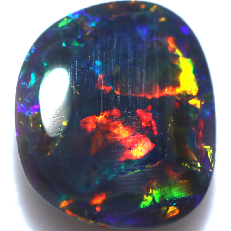 1.70 CTS BLACK OPAL STONE-FROM LIGHTNING RIDGE - [LRO1326]