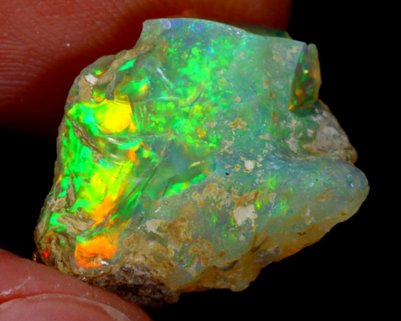 5cts Natural Ethiopian Welo Rough Opal / WR3240