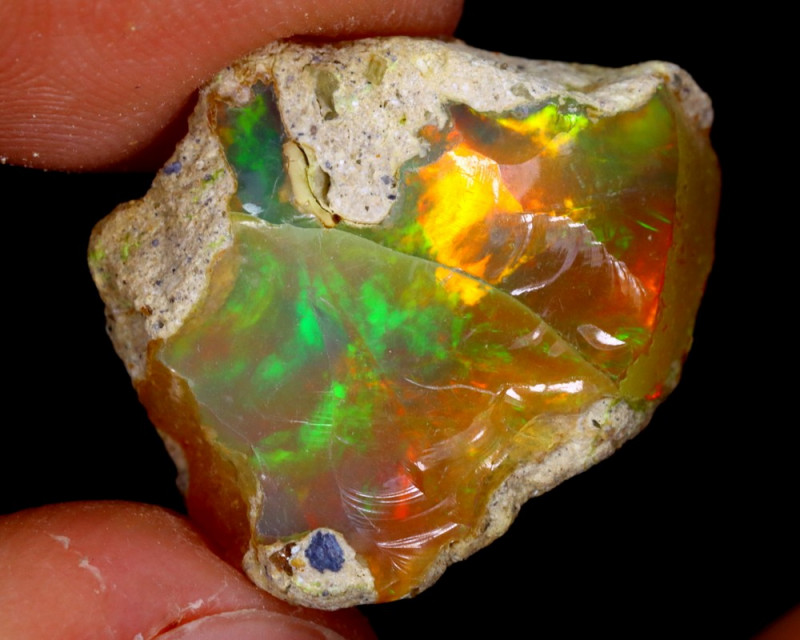 9cts Natural Ethiopian Welo Rough Opal / WR3248