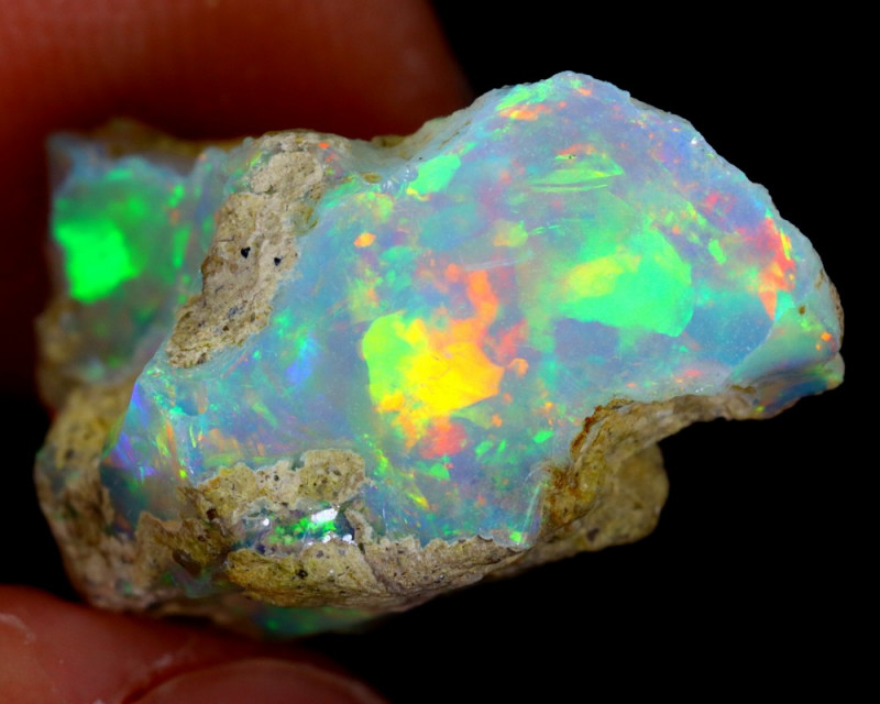 7cts Natural Ethiopian Welo Rough Opal / WR3250