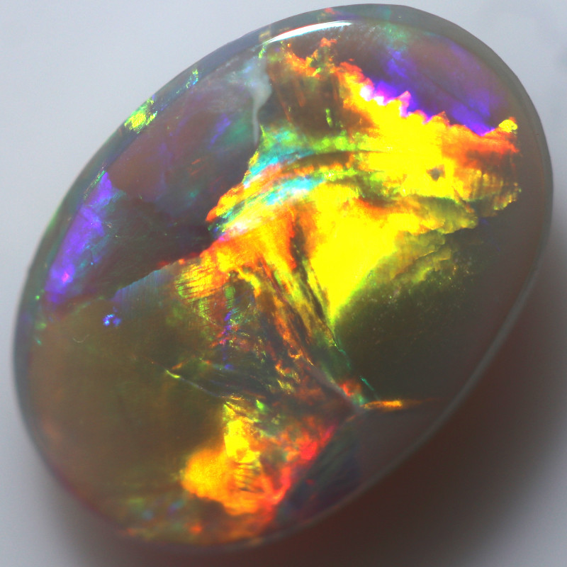 1.27 CTS CRYSTAL OPAL FROM LIGHTNING RIDGE [PS184]