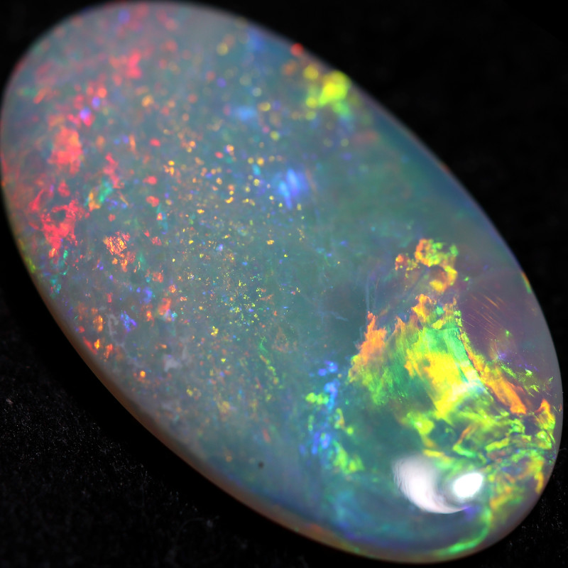 4.90 CTS CRYSTAL OPAL FROM LIGHTNING RIDGE [LRO1413]