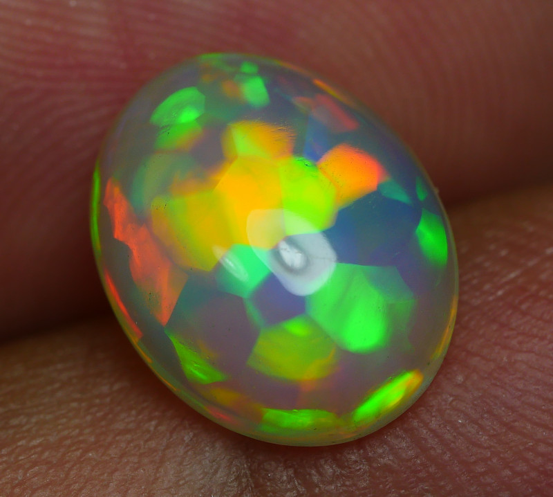 2.445 CRT BRILLIANT WELO CHAFF PUZZLE BEAUTY COLOR WELO OPAL
