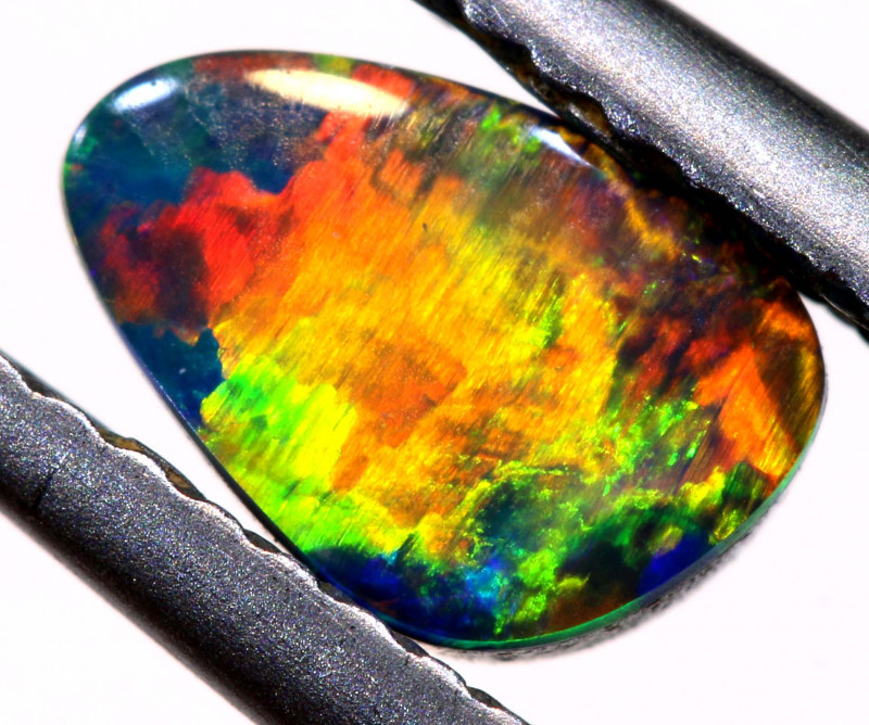 0.75 CTS  OPAL DOUBLET  STONE  LO-6055