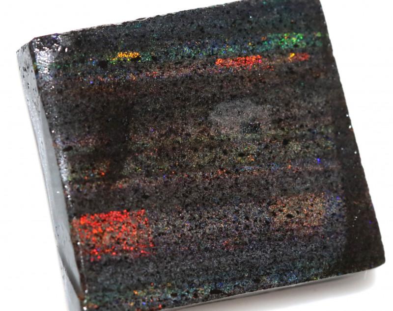 78.81 CTS ANDAMOOKA MATRIX ROUGH  SLABS-SIMILAR PATTERN [BY9429]