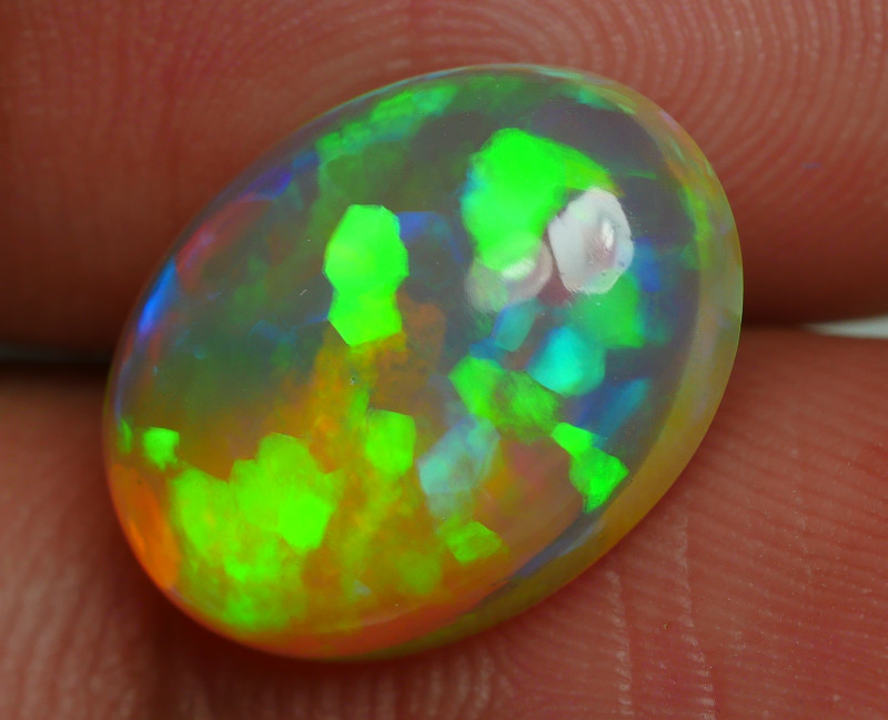 4.300 CRT BRILLIANTA FLORAL CHAFF PATTERN PUZZLE BEAUTY COLOR WELO OPAL