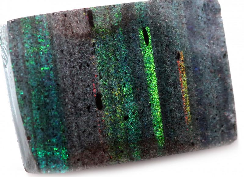 82.55 CTS ANDAMOOKA MATRIX ROUGH  SLABS-SIMILAR PATTERN [BY9484]