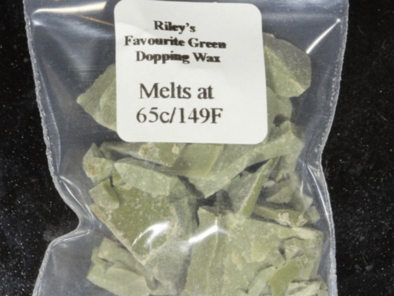 Green Dopping Wax- Riley's Favourite  65C/149F [28622]