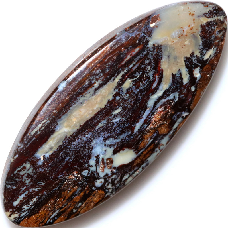 92.90 CTS BOULDER WOOD FOSSIL REPLACEMENT STONE [FJP3625]