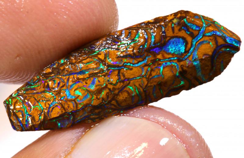 Australian Yowah Opal Rub 7cts DO-294
