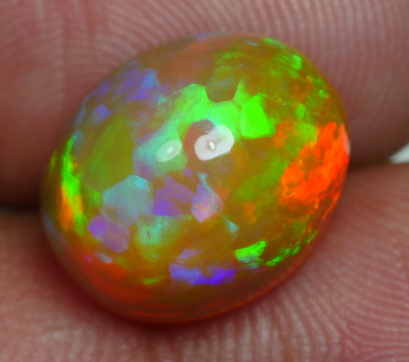 5.240 CRT BRILLIANT WELO CHAFF PUZZLE PATTERN BEAUTY PLAY COLOR WELO OPAL