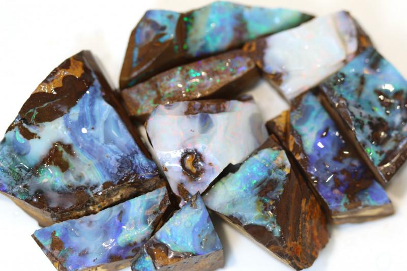 10 = 585cts Australian Boulder Opal Solid Stone ML02074